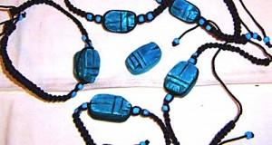 amuleto escarabajo pelotero