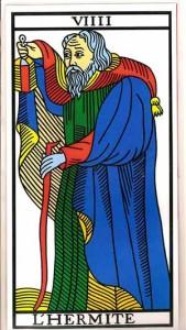 tarot el ermitaño