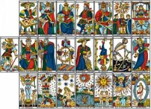 Significado rápido de las cartas del tarot