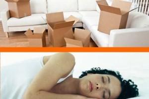 soñar con mudarse