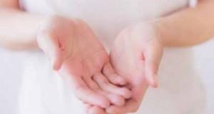 líneas de la mano derecha y la mano izquierda